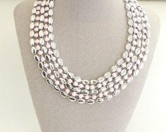 Statement necklace, Bib necklace, Stylish necklace, Boho necklace, Choker necklace