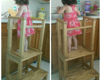 Mommy's Little Helper Kitchen Helper / Toddler Tower Stool
