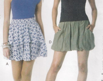 McCall's M6327 Misses Skirts Sewing Pattern - Womens Clothing Sewing Pattern- Uncut Sewing Pattern