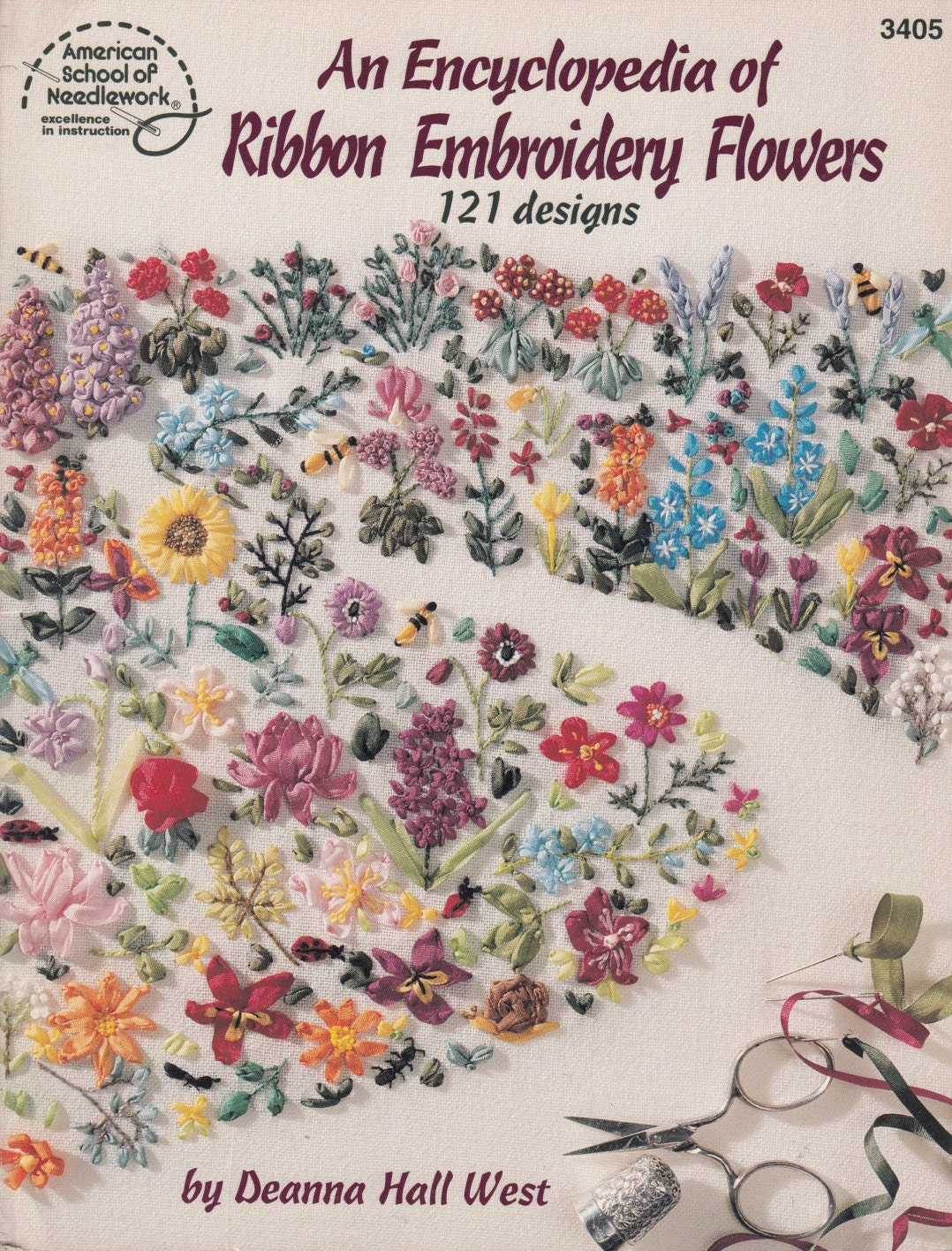 Encyclopedia of ribbon embroidery flowers accessories sewing