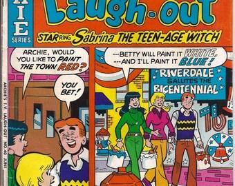 Archie Comic Series No  40, Cat# 06975 Jun 1976 Archie's T.V. Laugh-out