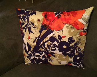 Beautiful Floral Pillow Cover
