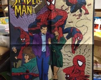 Marvel Comics Spiderman & X-Men Promo Coloring Posters Unused NM+