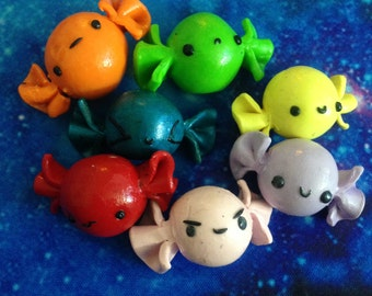 1PC Candy Polymer Clay Charm