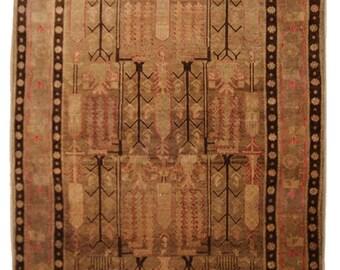 Antique Persian Rug - Ferdous Rug - Unique Rug - 4.11x7.10