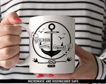 Coffee Mug Stylinson Shipping Company Mug - Larry Stylinson Coffee Mug