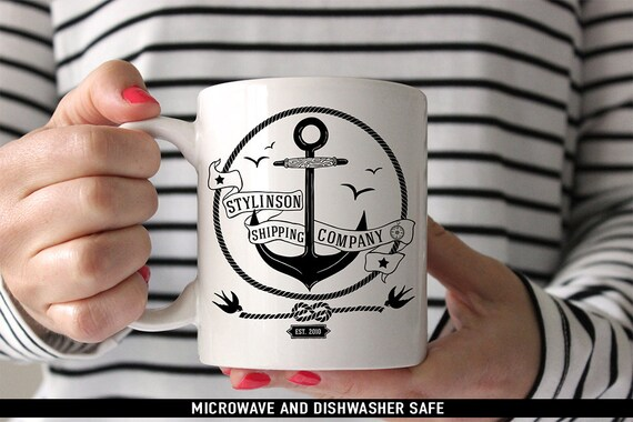 Coffee Mug Stylinson Shipping Company Mug - Larry Stylinson Coffee Mug