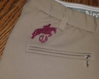 Riding Breeches Monogram / Decal