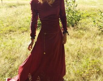 Medieval Dress - size S-M