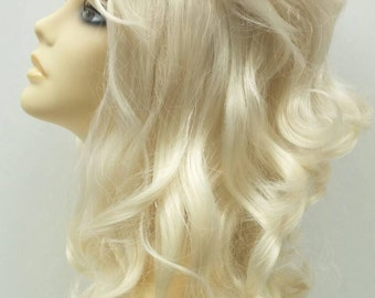 Light Blonde Beehive Costume Wig. [22-143-WvBeehive-613]