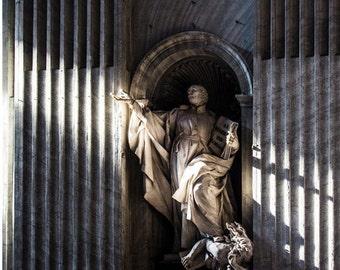 Statue in St. Peter's Basilica Rome