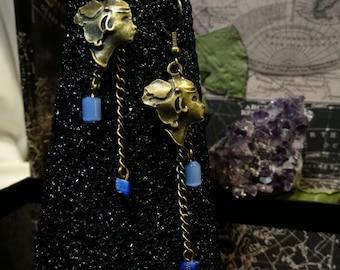 Bronze Silhouette Earrings