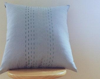 Blue & Green Pillow