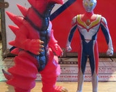 First Encounter- Monsarger and Ultraman Dyna Set