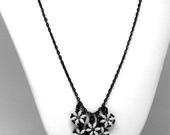 Design Your Own Neon Flower Drama Necklace