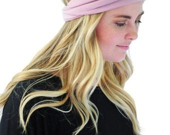 Boho Head Wrap, Hair Band, Fashion Headband, Headband in Sweet Lilac By Simply Martha