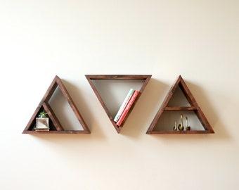 Triangle Shelves (Set of 3)