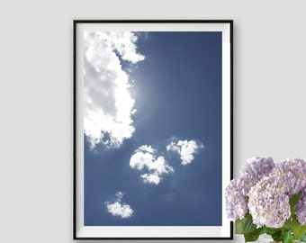 Sky Print Clouds Poster Sky Instant Download Photography Sky Art Clouds Fine Art Sky Decor
