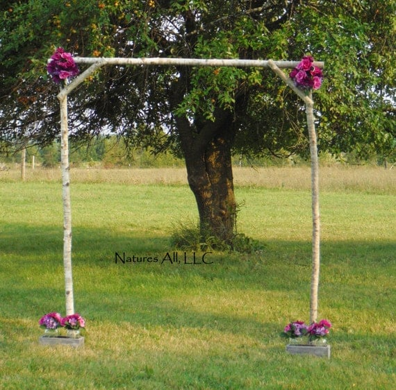 Wedding Arch Diy Ideas: Rustic DIY Aspen Wedding Arch/Aspen Wedding Arch Kit
