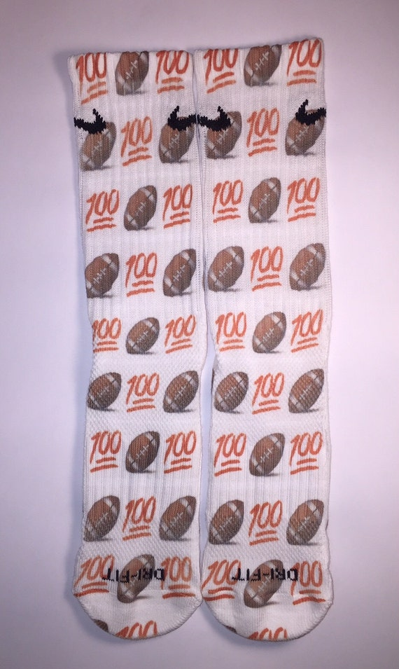 nike elite emoji 100 football socks