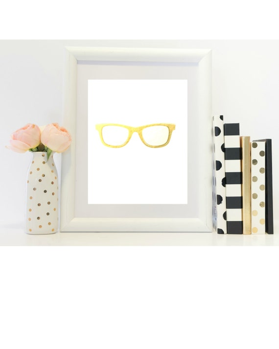 White And Gold Sunglasses 86
