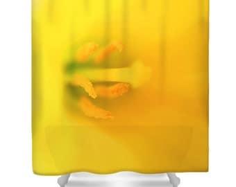 Yellow bathroom etsy for Bright yellow bathroom accessories