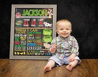 Etsy kids: Baby milestones