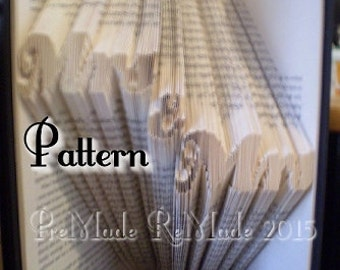 Mrs&Mrs v2 - Folded Book Art Pattern - Instant Download!