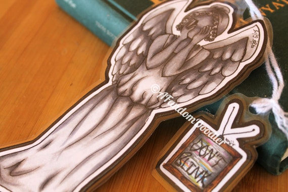 Weeping Angel (Doctor Who) Bookmark
