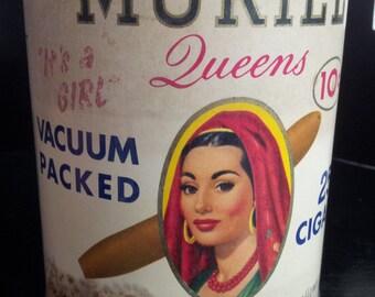 """Muriel Cigar Tin """"Queens"""""""