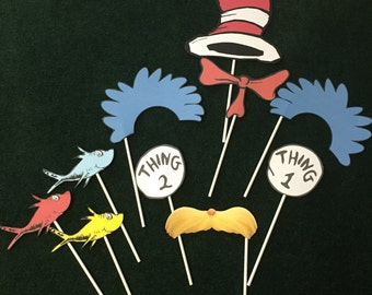 Seuss Inspired Photo Props