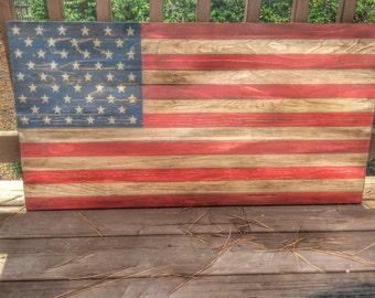 American Flag, Wood American Flag, Rustic American Flag, Wooden American Flag, American Flag, Rustic Wood Flag, Barn wood flag