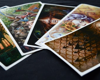 STICKER COLLECTION of 5 paintings by Autumn Skye ART