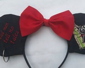 Pirates of the Caribbean minnie mouse ears
