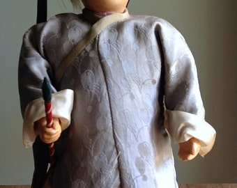 Vintage Chinese Character Doll