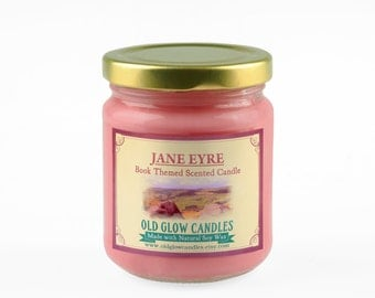 Jane Eyre Inspired Scented Soy Candle - Charlotte Brontë