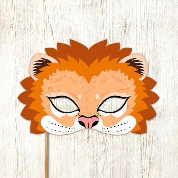 Lion Mask Print...