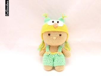 Amigurumi Owl Baby, crochet, handmade