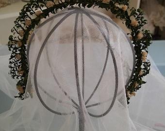 Vintage German Crown Bridal Headpiece