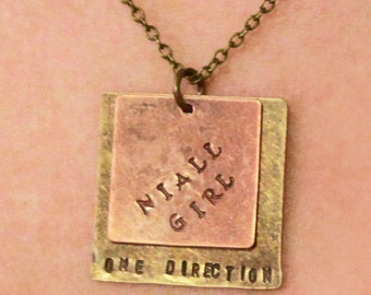 Niall Girl - One Direction Necklace