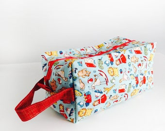 Boxy Bag Knitting Project Bag - Toys