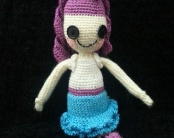 Cute Doll of Crochet - Doll. Gift, Ornament