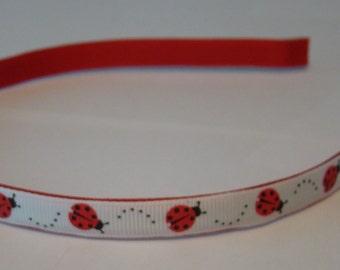 PRICE REDUCED ~ Ladybugs - Headband
