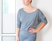Knit Sewing Pattern, Women Top, Tunic, Dolman Sleeve Pdf Pattern, Instant Download  XXS-XL US 0-16 Available in A1 Print Copy