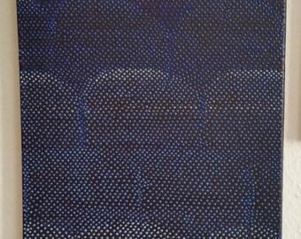 """Original Painting """"Blue N*01"""""""
