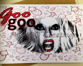 Goo Goo GaGa Baby Shower Card