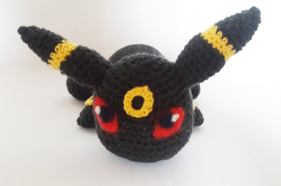 Crochet Umbreon : Coins & Money Collectible Glass Collectible Plates Dolls & Miniatures...