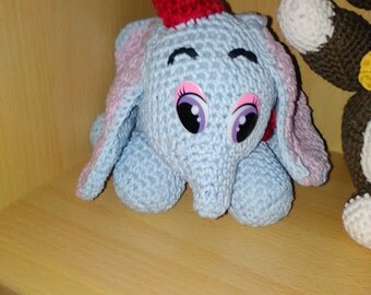 baby elephant in washable cotton