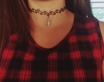 Tree of Life Tattoo Choker