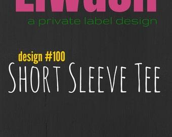 LiWash Design 100 Short Sleeve Tee